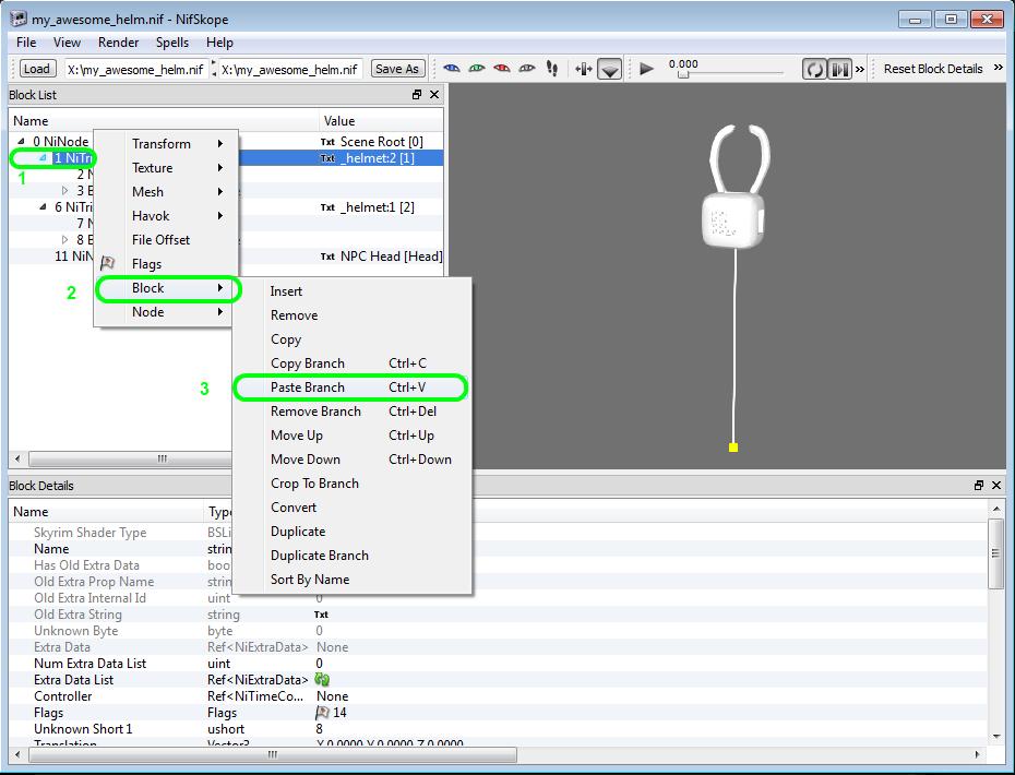 Nif Import/Export plugin for 3dsmax 2013 | TESRenewal: Morroblivion